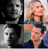 [TVD 3x09-TO 3x19] Mikael can choke he was so wrong 🙃 Cami was such an angel ❤ ⠀ Q: Klaus in TVD or TO? A: TO ⠀ My edit give credit [ klamille klausmikaelson camilleoconnell theoriginals tvd thevampirediaries vampirediaries tvdforever 154.4k]: Nobody cares about  you any more, boy!  You are loved By Elijah,  Rebekah, Freya [TVD 3x09-TO 3x19] Mikael can choke he was so wrong 🙃 Cami was such an angel ❤ ⠀ Q: Klaus in TVD or TO? A: TO ⠀ My edit give credit [ klamille klausmikaelson camilleoconnell theoriginals tvd thevampirediaries vampirediaries tvdforever 154.4k]