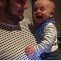 Nobody finds burping as funny as this baby: Nobody finds burping as funny as this baby
