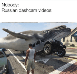 Videos, Russian, and MeIRL: Nobody:  Russian dashcam videos: meirl
