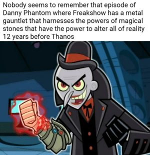 Nobody Seems to Remember That Episode of Danny Phantom Where