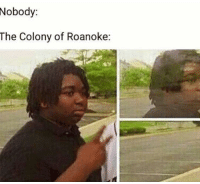 Memes, Aliens, and 🤖: Nobody:  The Colony of Roanoke: Them niggas either got killed by natives or abducted by aliens ain't no in between