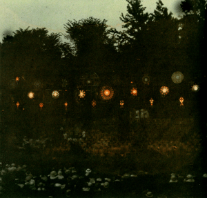 nobrashfestivity: Unknown,   Unidentified Festival of Song and Light after dusk   from the long gone woolgathersome blog : nobrashfestivity: Unknown,   Unidentified Festival of Song and Light after dusk   from the long gone woolgathersome blog