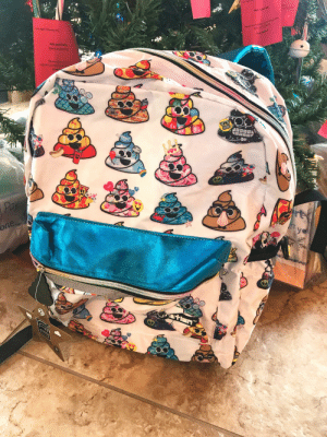 Thanks i hate multi-flavor poo emoji backpack donated to needy family for xmas.: Nol Polsh Set  820NCoacve  Please retum p  Girl Age 9 (family 1)  Mwapod  Arts and Crafts  (Sand or jewelny)  Please return gt to  9150 N Coachline Elvd. by  (Unwra  Pay  re  one.  ye  3450 Thanks i hate multi-flavor poo emoji backpack donated to needy family for xmas.