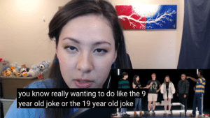 Nola mentioned in her own reaction video that they all wanted to make a Pewdiepie reference when they were filming the gamers odd one out episode.: Nola mentioned in her own reaction video that they all wanted to make a Pewdiepie reference when they were filming the gamers odd one out episode.