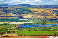 Memes, Israel, and 🤖: nonm.c Shabbat Shalom!  Overlooking the fertile Hula Valley and Lake, Northern Israel 🇮🇱  Photo: Noam Chen - Photographer | נועם חן - צלם
