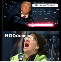 Memes, Impossibility, and 🤖: NOOOOooa  No, I am your President! That's not true! That's impossible!!!