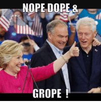 It's like a satanic version of the Three Stooges!: NOPE DOPE  GROPE It's like a satanic version of the Three Stooges!