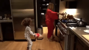 Singing, Tumblr, and Queen: norisblackbook:In 2017, I want to be as happy as Moroccan is singing his mom's song while she pretends to cook.  QUEEN