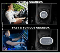 Fast and Furious: NORMAL GEARBOX  FAST & FURIOUS GEARBOX  VIA9GAG.COM