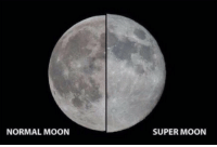 Memes, Moon, and 🤖: NORMAL MOON  SUPER MOON CANT BELIEVE I MISSED OUT ON THIS 😕