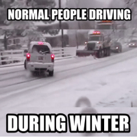 Who else loves winter driving? Car Throttle Submitted by Johan Sjödin: NORMAL PEOPLE DRIVING  DURING WINTER Who else loves winter driving? Car Throttle Submitted by Johan Sjödin
