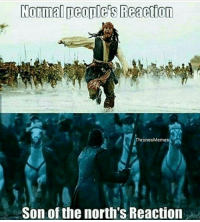 Normal people's Reanetton  Thrones Memes  Son of the north's Reaction Jon Snow, The White Wolf, THE KING IN THE NORTH!🐺 . Follow @gameofthrones_n1! ✔ Hit the follow button for great GOT stuff! . jonsnow jontargaryen kitharington thewhitewolf kinginthenorth gotmemes gameofthronesmemes gameofthronesfamily gameofthroneshbo got gameofthrones