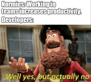 Army, Yes, and Working: Normies: Working tn  Developers:  Well yes, but actually no  mgiip.com Im a one man army.