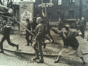 "waroncops:  mikkeneko:  dreadpiratekhan:  dreadpiratekhan:  A Swedish woman hitting a neo-Nazi protester with her handbag. The woman was reportedly a concentration camp survivor. [1985] Volunteers learn how to fight fires at Pearl Harbor [c. 1941 - 1945] Maud Wagner, the first well-known female tattoo artist in the U.S. [1907] A 106-year old Armenian woman protecting her home with an AK-47. [1990]  Komako Kimura, a prominent Japanese suffragist at a march in New York. [October 23, 1917]   Margaret Hamilton, lead software engineer of the Apollo Project, standing next to the code she wrote by hand that was used to take humanity to the moon. [1969]   Erika, a 15-year-old Hungarian fighter who fought for freedom against the Soviet Union. [October 1956]  Sarla Thakral, 21 years old, the first Indian woman to earn a pilot license. [1936]   Voting activist Annie Lumpkins at the Little Rock city jail. [1961]   (freakin' immaculate)    Now with more awesomesauce!     Female pilots leaving their B-17, ""Pistol Packin' Mama"" [c. 1941 - 1945]   The first basketball team from Smith college. [1902]   Filipino guerilla, Captain Nieves Fernandez, shows a US soldier how she killed Japanese soldiers during the occupation. [1944]   Afghani medical students. [1962]   (man, screw fundamentalism.)   A British sergeant training members of the 'mum's army' Women's Home Defence Corps during the Battle of Britain. [1940]   and just to wrap up… Nina Simone, one of the most talented vocalists of the 20th century.  Women have always been there. remember whenever a Serious Historical Movie is made showing Serious Historical Things that include only a parade of unbroken men, that is a deliberate filmmaking choice.  woman. : Norrgotar  2 MAJ  ST  MILJ  VINS waroncops:  mikkeneko:  dreadpiratekhan:  dreadpiratekhan:  A Swedish woman hitting a neo-Nazi protester with her handbag. The woman was reportedly a concentration camp survivor. [1985] Volunteers learn how to fight fires at Pearl Harbor [c. 1941 - 1945] Maud Wagner, the first well-known female tattoo artist in the U.S. [1907] A 106-year old Armenian woman protecting her home with an AK-47. [1990]  Komako Kimura, a prominent Japanese suffragist at a march in New York. [October 23, 1917]   Margaret Hamilton, lead software engineer of the Apollo Project, standing next to the code she wrote by hand that was used to take humanity to the moon. [1969]   Erika, a 15-year-old Hungarian fighter who fought for freedom against the Soviet Union. [October 1956]  Sarla Thakral, 21 years old, the first Indian woman to earn a pilot license. [1936]   Voting activist Annie Lumpkins at the Little Rock city jail. [1961]   (freakin' immaculate)    Now with more awesomesauce!     Female pilots leaving their B-17, ""Pistol Packin' Mama"" [c. 1941 - 1945]   The first basketball team from Smith college. [1902]   Filipino guerilla, Captain Nieves Fernandez, shows a US soldier how she killed Japanese soldiers during the occupation. [1944]   Afghani medical students. [1962]   (man, screw fundamentalism.)   A British sergeant training members of the 'mum's army' Women's Home Defence Corps during the Battle of Britain. [1940]   and just to wrap up… Nina Simone, one of the most talented vocalists of the 20th century.  Women have always been there. remember whenever a Serious Historical Movie is made showing Serious Historical Things that include only a parade of unbroken men, that is a deliberate filmmaking choice.  woman."