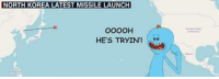 """Memes, North Korea, and Http: NORTH KOREA LATEST MISSILE LAUNCH  OO0OH  HE'S TRYIN'! <p>He sure is Mr. Meeseeks via /r/memes <a href=""""http://ift.tt/2x3r8pI"""">http://ift.tt/2x3r8pI</a></p>"""