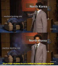 🇰🇵🇰🇵🇰🇵🇰🇵🇰🇵🇰🇵🇰🇵🇰🇵🇰🇵🇰🇵🇰🇵: North Korea  nuclear testing site  North Korea  nuclear testing site  imgflp ie no longer necessary for us to continue our nuclear testing program 🇰🇵🇰🇵🇰🇵🇰🇵🇰🇵🇰🇵🇰🇵🇰🇵🇰🇵🇰🇵🇰🇵