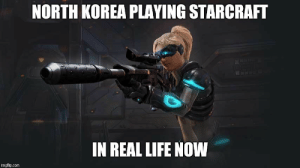Life, North Korea, and Prince: NORTH KOREA PLAYING STARCRAFT  IN REAL LIFE NOW  imgflip.com Prince Rupert's drop