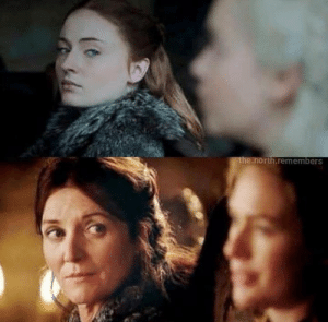 Great parallels between season 8 and season 1.: .north.remembers Great parallels between season 8 and season 1.