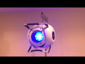 norwoodcosplay:  Fully animated Wheatley!Build time to this point: 2 years: norwoodcosplay:  Fully animated Wheatley!Build time to this point: 2 years