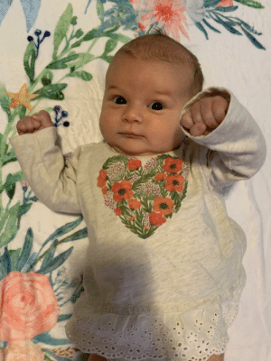 Not a meme, but my daughter did her first brofist today.: Not a meme, but my daughter did her first brofist today.