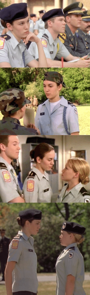 not-a-princess-but-a-queen:  nixonsshades:  ngl christy carlson romano was servin some wlw looks in cadet kelly  I love this movie!!: not-a-princess-but-a-queen:  nixonsshades:  ngl christy carlson romano was servin some wlw looks in cadet kelly  I love this movie!!