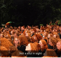 Weasley family reunion: Not a soul in sight Weasley family reunion