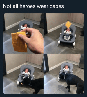 Dank, Memes, and Target: Not all heroes wear capes A hero when needed by Borkin_Bandit MORE MEMES