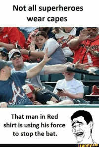 Man In Red Shirt