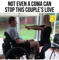 Love, Memes, and Wow: NOT EVEN A COMA CAN  STOP THIS COUPLE'S LOVE Wow 👀 Follow @masselor for more