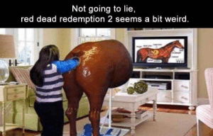 Funny Memes Of The Day 35 Pics: Not going to lie,  red dead redemption 2 seems a bit weird. Funny Memes Of The Day 35 Pics