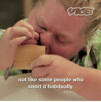 White People, White, and Whitepeoplegifs: not like some people who  snort it habitually White people and their tobacco sniffing competition