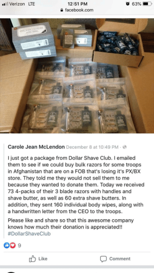 Not mine but I'd like to post on here anyways… Go Dollar Shave Club!: Not mine but I'd like to post on here anyways… Go Dollar Shave Club!