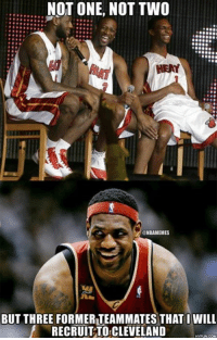 LeBron James bringing Mike Miller, James Jones, and possibly Ray Allen to Cleveland?!  Credit: Shivansh Sachdeva   Even players are joining the Cavs Nation BANDWAGON!: NOT ONE, NOT TWO  HEAT  NBAMEMES  BUT THREE FORMERTEAMMATES THAT I WILL  RECRUIT TO CLEVELAND  HYPUNCOM LeBron James bringing Mike Miller, James Jones, and possibly Ray Allen to Cleveland?!  Credit: Shivansh Sachdeva   Even players are joining the Cavs Nation BANDWAGON!