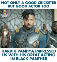 #Michaelbjordan #BlackPanther #HardikPandya: NOT ONLY A GOOD CRICKETER  BUT GOOD ACTOR TOO  LAUGHING  HARDIK PANDYA IMPRESSED  US WITH HIS GREAT ACTING  IN BLACK PANTHER #Michaelbjordan #BlackPanther #HardikPandya
