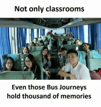 Memes, 🤖, and Journeys: Not only classrooms  Even those Bus Journeys  hold thousand of memories