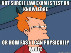 Sleep Snail Meme | www.picturesso.com: NOT SURE IF LAW EXAM IS TEST ON  KNOWLEDGE  OR HOW FASTICAN PHYSICALLY  WRITE  memegenerator net Sleep Snail Meme | www.picturesso.com