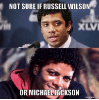 Not sure if...  Like NFL Memes!  Credit: New York Jets Memes: NOT SURE IF RUSSELL WILSON  XLVI  OR MICHAELJACKSON  mematic net Not sure if...  Like NFL Memes!  Credit: New York Jets Memes