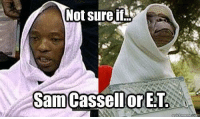 Not sure...: Not sure if  Sam Cassell ET  or  quick meme C Not sure...