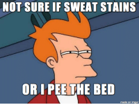 Every time I see my mattress...: NOT SURE IF SWEAT STAINS  OR PEE THE BED  made on imgur Every time I see my mattress...