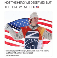 🇺🇸 @tagtheflag giveaway alert. Want to win skis, lift tickets, and a USA garment bag? Here's what you have to do: 1) follow @tagtheflag 2) Tag 2 friends in their latest post 3) hit the link in their bio. On your mark, get set, go 🇺🇸: NOT THE HERO WE DESERVED, BUT  THE HERO WE NEEDED  7  Teen Olympian Overslept, Lost Coat, Said F*ck on TV,  and Won U.S.'s First Gold of 2018  Truly an American hero. 🇺🇸 @tagtheflag giveaway alert. Want to win skis, lift tickets, and a USA garment bag? Here's what you have to do: 1) follow @tagtheflag 2) Tag 2 friends in their latest post 3) hit the link in their bio. On your mark, get set, go 🇺🇸