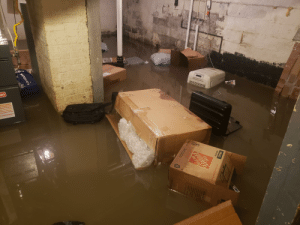 Not under isolation, but did happen to take a vacation day on the day my sump pump decided to stop working during a very bad storm...: Not under isolation, but did happen to take a vacation day on the day my sump pump decided to stop working during a very bad storm...