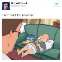 Memes, Soon..., and Will Ferrell: Not Will Ferrell  @itsWillyFerrell  Can't wait for summer: Soon! Oh wait I can be in South Beach in no time! Double tap and comment if you want summer to be here!