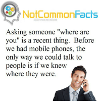 "👌🏽 Comment ""PHONE"" letter by letter without getting interrupted. I bet you can't!: NotCommonFacts  @Notcommon facts  Asking someone ""where are  you"" is a recent thing. Before  we had mobile phone  the  only way we could talk to  people is if we knew  where they were. 👌🏽 Comment ""PHONE"" letter by letter without getting interrupted. I bet you can't!"