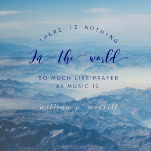 elikamahony:  So very true! #musicquote #upliftingquote #peaceful #prayer #musiclikeprayer: NOTH  THERE  SO MUCH LIKE PRAYER  AS MUSIC IS  a im Din e1 II  ellkamahony.com elikamahony:  So very true! #musicquote #upliftingquote #peaceful #prayer #musiclikeprayer