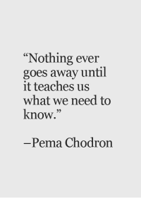 """Memes, 🤖, and Pema Chodron: """"Nothing ever  goes away until  it teaches us  what we need to  know.  Pema Chodron Yes... Queen, do you agree? #thequeencode"""