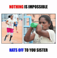 Meet Bengaluru's 'blade runner' Shalini Saraswathi .: NOTHING  IS IMPOSSIBLE  HATS OFF  TO YOU SISTER Meet Bengaluru's 'blade runner' Shalini Saraswathi .
