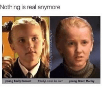 Oh nooooo: Nothing is real anymore  young Emily Osment  Totally Looks Like.com young Draco Malfoy Oh nooooo