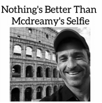 I mean look at that happy face 😍😍😍 Mcdreamy patrickdempsey handsome GreysAnatomystar GreysAnatomy: Nothing's Better Than  Mcdreamy's Selfie I mean look at that happy face 😍😍😍 Mcdreamy patrickdempsey handsome GreysAnatomystar GreysAnatomy