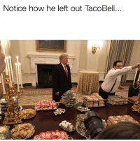 Reddit, How, and Don: Notice how he left out TacoBell...  13