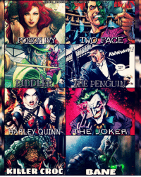Crocs, Joker, and Killer Croc: notion universe  POISON IVY  TWO FACE  MAKE  ME  HARLEY QUINNS THE JOKER  KILLER CROC  BAINE Comment your two favorite BATMAN villains! dc dccomics dceu dcu dcrebirth dcnation dcextendeduniverse batman superman manofsteel thedarkknight wonderwoman justiceleague cyborg aquaman martianmanhunter greenlantern theflash greenarrow suicidesquad thejoker harleyquinn comics injusticegodsamongus